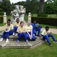Class 4 at Belton House